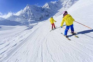 اسکی در تابستان