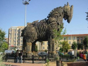 اسب تراوا در شهر تراوا ـ تور استانبول