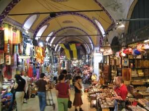 بازار بزرگ در تور استانبول