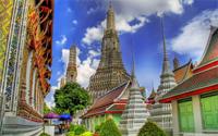 گشت معبد در بانکوک
