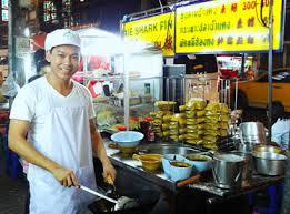 اغذیه فروشی های محله چینی ها در تور تایلند