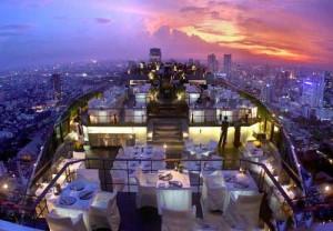 رستوران ورتیگو تور تایلند