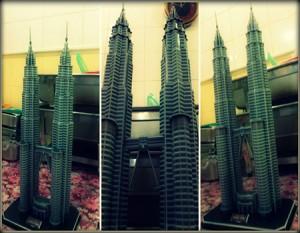 ماکت برج های دوقلو پتروناس مالزی,تور مالزی