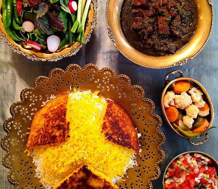 رستور انهای ایرانی در استانبول