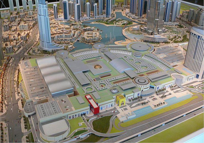 دبی مال بزرگترین مرکز خرید جهان