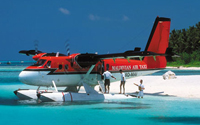 ترانسفر فرودگاهی با هواپیما و قایق تندرو