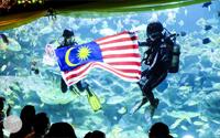 شاتل رایگان به آکواریوم بزرگ کوالالامپور