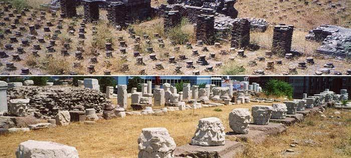 خرابه های رومی در تور ترکیه