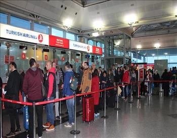 قوانین فرودگاه ترکیه